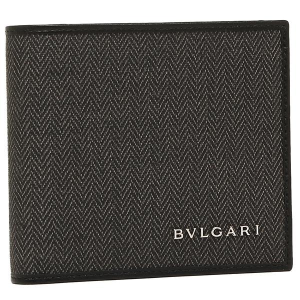 a6a40b54e27d LOHACO - ブルガリ 二つ折り財布 BVLGARI メンズ 32581 WEEKEND ブラック ...