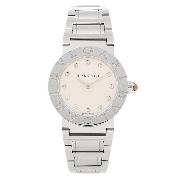 a6413e9d4214 ブルガリ BVLGARI 時計 腕時計 レディース BVLGARI BBL26WSS/12 ブルガリブルガリ 腕時計 ウォッチ シルバー/ホワイト