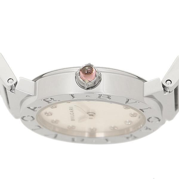 465e25731411 ... ブルガリ BVLGARI 時計 腕時計 レディース BVLGARI BBL26WSS/12 ブルガリブルガリ 腕時計 ウォッチ シルバー/ ホワイト ...