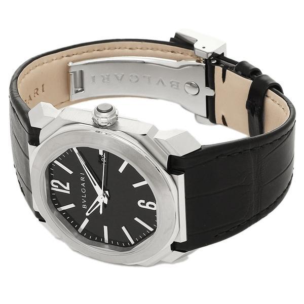 BVLGARI 腕時計 レディース ブルガリ BGO38BSLD ブラック シルバー