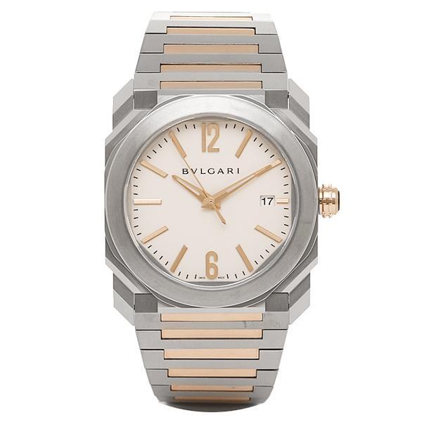 new product 49b0e 7993e ブルガリ 腕時計 BVLGARI BGO38WSPGD 102118 シルバー/ゴールド/ホワイト