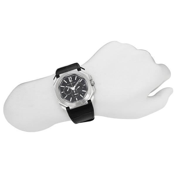 BVLGARI 腕時計 レディース ブルガリ BGO41BSLDCH ブラック シルバー