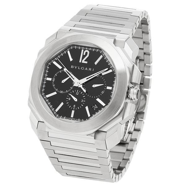 BVLGARI 腕時計 レディース ブルガリ BGO41BSSDCH ブラック シルバー