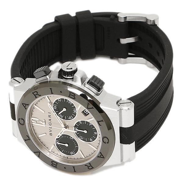 ブルガリ 腕時計 BVLGARI DG37C6SCVDCH シルバー ブラック
