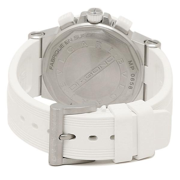 9b9362f41393 ... ブルガリ BVLGARI 時計 腕時計 ブルガリ 時計 レディース BVLGARI DG37WSCVDCH/8 ディアゴノ 腕時計 ウォッチ  ホワイト/ ...