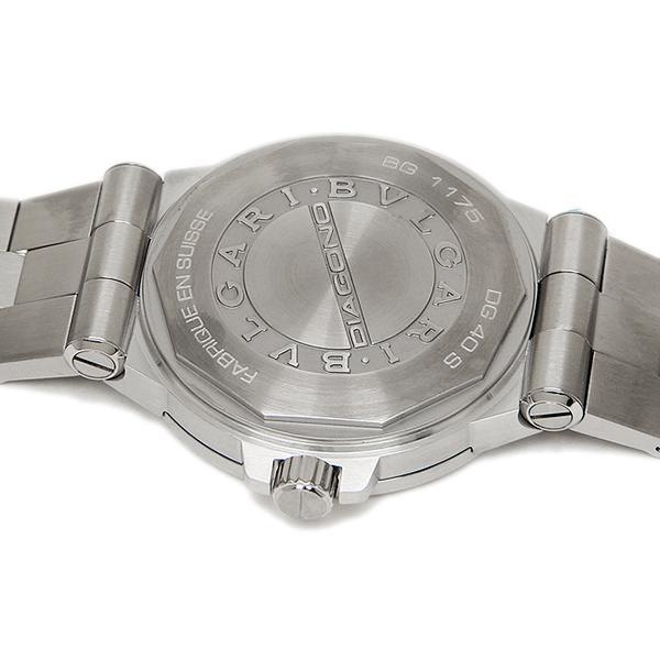 eca92a1f1835 ... ブルガリ 腕時計 BVLGARI メンズウォッチ ディアゴノ クラシック オートマチック ブラック DG40BSSD シリアル有