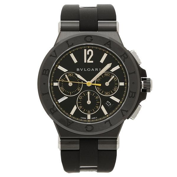 ac5ead0e592d 【P10倍】 BVLGARI 腕時計 メンズ ブルガリ DG42BBSCVDCH/2 ブラック 【10%OFF