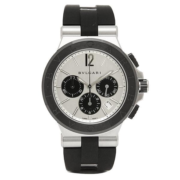 ブルガリ 腕時計 BVLGARI DG42C6SCVDCH ブラック シルバー