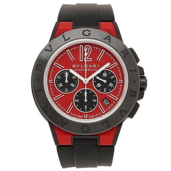 BVLGARI 腕時計 レディース ブルガリ DG42C9SMCVDCH レッド ブラック