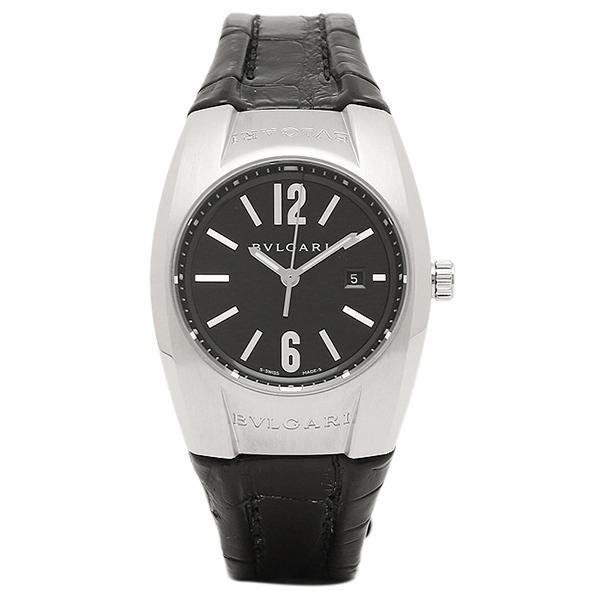 0202b5621c8d 【P10倍】 ブルガリ 時計 BVLGARI EG30BSLD エルゴン クォーツ レディース腕時計ウォッチ ブラック/シルバー