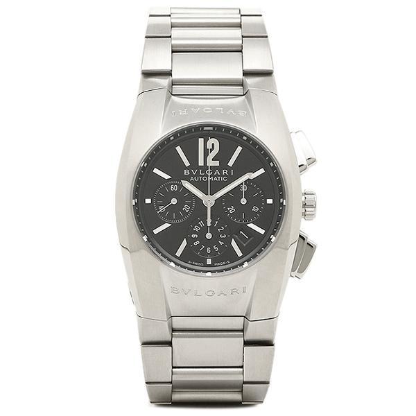 5d296a14f1 ブルガリ BVLGARI 時計 レディース 腕時計 エルゴン オートマチック クロノグラフ ブラック ボーイズ EG35BSSDCH ウォッチ 腕時計