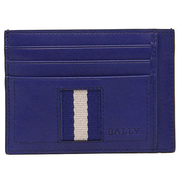 バリー カードケース BALLY 6193112 637 ネイビー