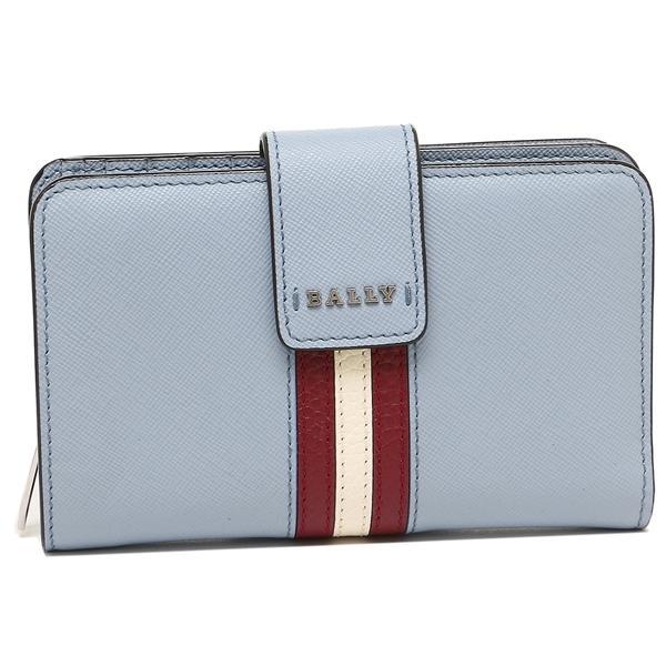 ff707ca811f7 LOHACO - バリー 二つ折り財布 レディース BALLY 6222433 87 16 ブルー ...