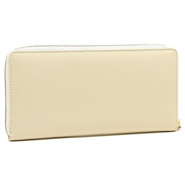 コムデギャルソン 財布 レディース/メンズ COMME des GARCONS SA0110 CLASSIC LEATHER LINE ZIP AROUND LONG WALLET 長財布 OFF WHITE