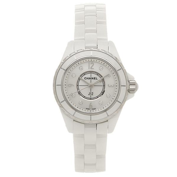 1581a978c798 【P10倍】 シャネル CHANEL 時計 腕時計 CHANEL J12 H2570 29MM 8Pダイヤモンド ホワイトセラミック