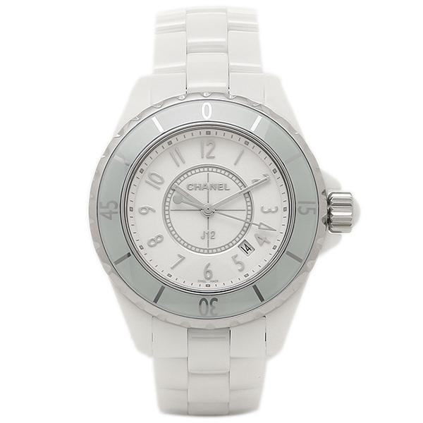 new styles ac83f 95159 シャネル 時計 CHANEL H4464 J12 ジェイトゥエルヴ 33mm クオーツ 200m防水 レディース腕時計ウォッチ ソフトミント/ホワイト