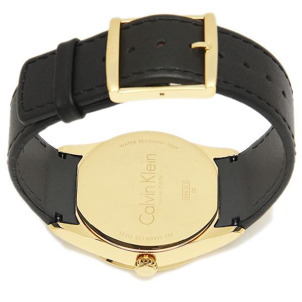 カルバンクライン 腕時計 CALVIN KLEIN K5A315C6 シルバー ゴールド ブラック