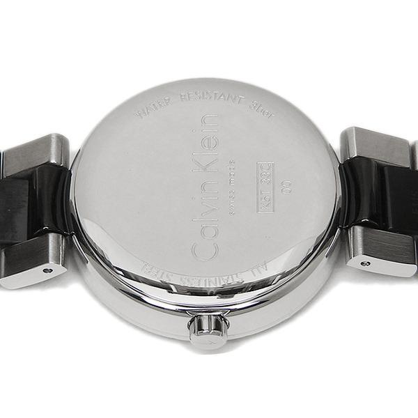 カルバンクライン 腕時計 CALVIN KLEIN K5T33C41 ブラック シルバー