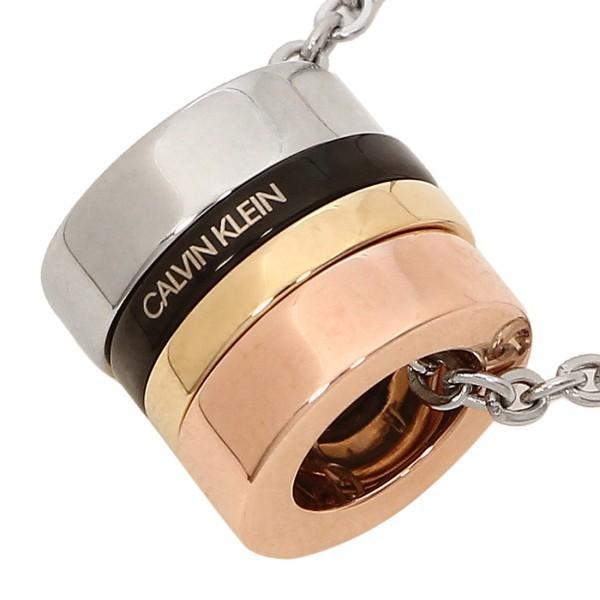 カルバンクライン ネックレス アクセサリー メンズ レディース CALVIN KLEIN KJ7GBN400100 シルバー ゴールド ローズゴールド ブラック