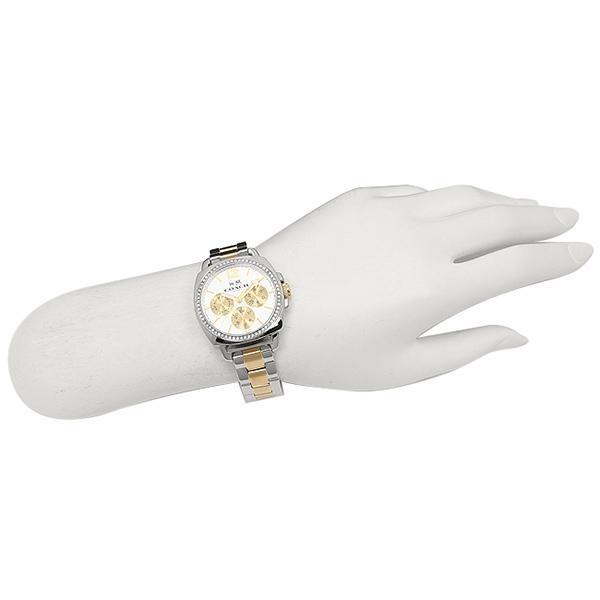 コーチ 時計 COACH 14502129 BOYFRIEND SMALL ボーイフレンドミニ レディース シルバー/イエローゴールド