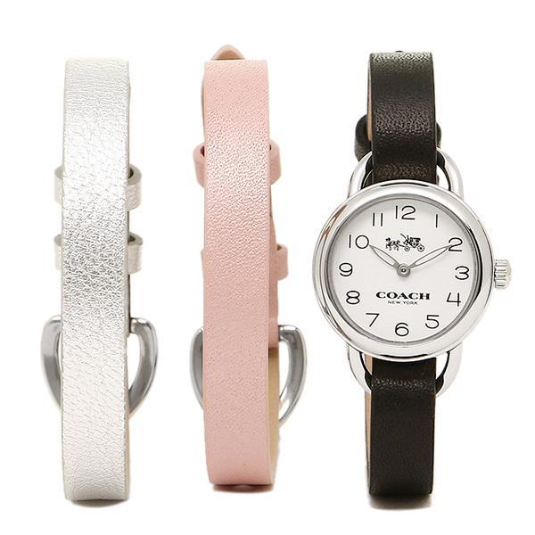 コーチ 腕時計 レディース COACH 14502363 シルバー ブラック ピンク グレー