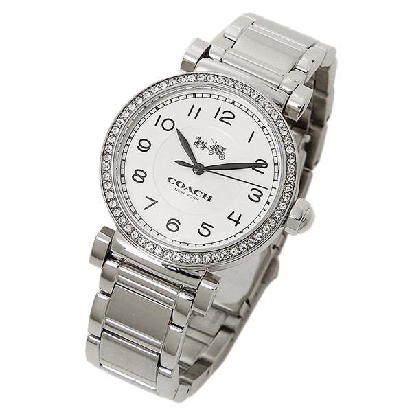 コーチ 腕時計 レディース COACH 14502396 ホワイト シルバー