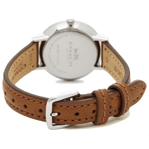 コーチ 腕時計 レディース COACH 14502563 ブラウン シルバー