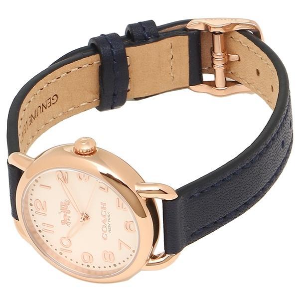 コーチ 腕時計 レディース COACH 14502749 ネイビー ホワイト イエローゴールド
