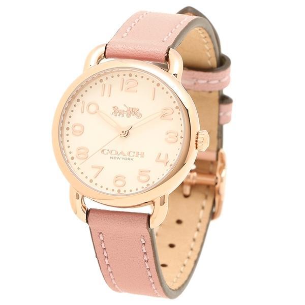 コーチ 腕時計 レディース COACH 14502750 ピンク ゴールド シルバー