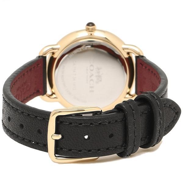 コーチ 腕時計 レディース COACH 14502791 W1101 ブラック イエローゴールド シルバー