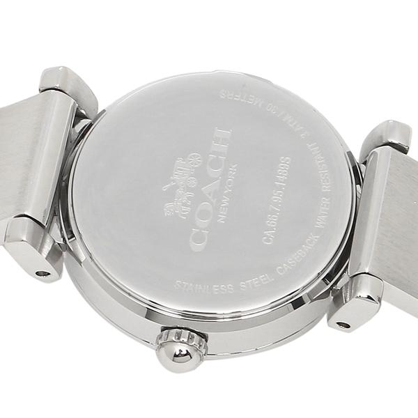 コーチ 腕時計 レディース COACH 14502870 ホワイト シルバー