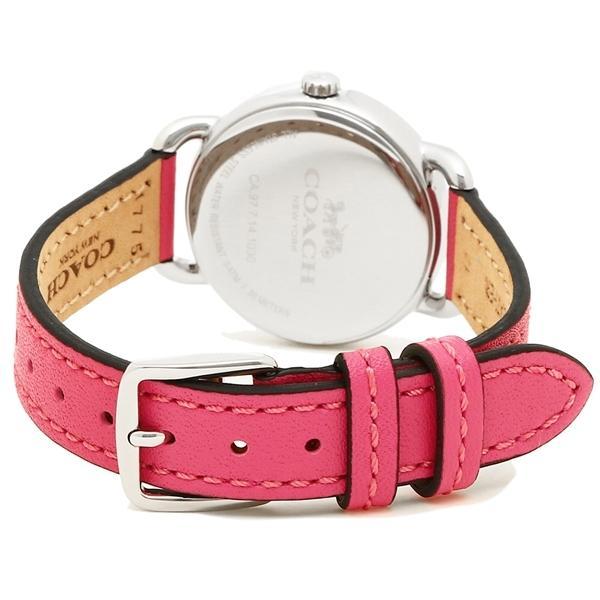 コーチ 腕時計 レディース COACH 14502906 ピンク ホワイト シルバー