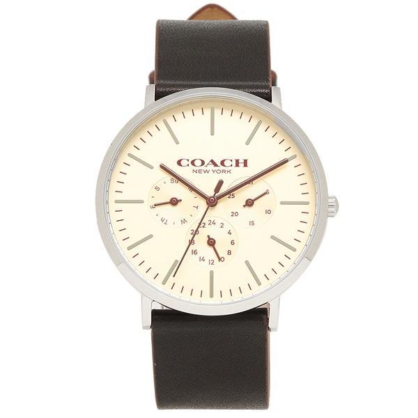 wholesale dealer 0ef62 0f0cb コーチ 腕時計 メンズ COACH 14602387 ブラック ホワイト