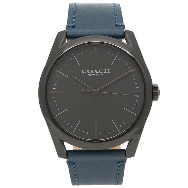 c6b381938eca LOHACO - コーチ 腕時計 メンズ COACH 14602399 ブルー ブラック (腕時計 ...
