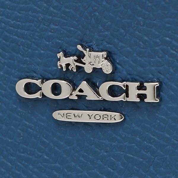 コーチ コインケース レディース COACH 57841 SVLGI ブルー