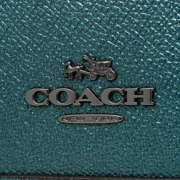 コーチ ハンドバッグ ショルダーバッグ アウトレット レディース COACH F22315 QBMP2 メタリックグリーン