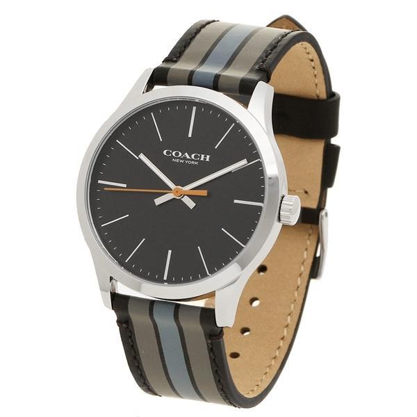 2ed08ea6075f ... コーチ 腕時計 メンズ アウトレット COACH W1545 D9B シルバー ブラック グレー ...