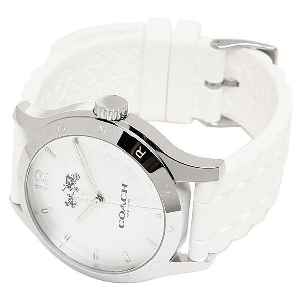 コーチ 腕時計 レディース アウトレット COACH W6033 WHT シルバー ホワイト