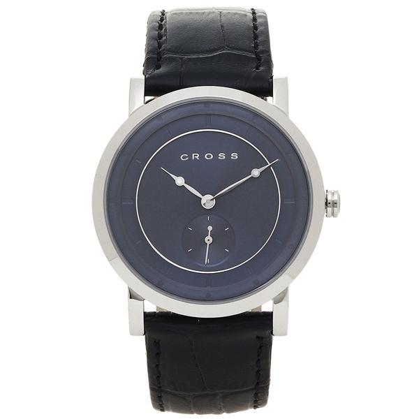 クロス 腕時計 メンズ CROSS CR8027-01 ブルー シルバー ブラック