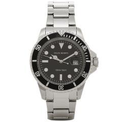 ドルチェセグレート メンズ 腕時計 DOLCE SEGRETO CSB300BK ブラック シルバー