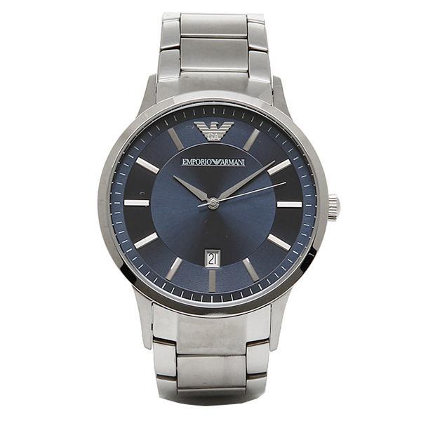 los angeles db5ec 7d05d エンポリオアルマーニ 腕時計 EMPORIO ARMANI AR2477 シルバー ブルー