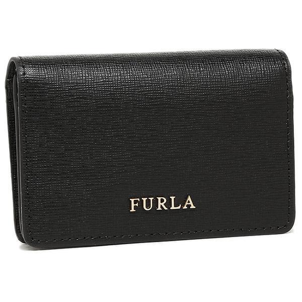フルラ 名刺入れ レディース FURLA 874701 PS04 B30 O60 ブラック