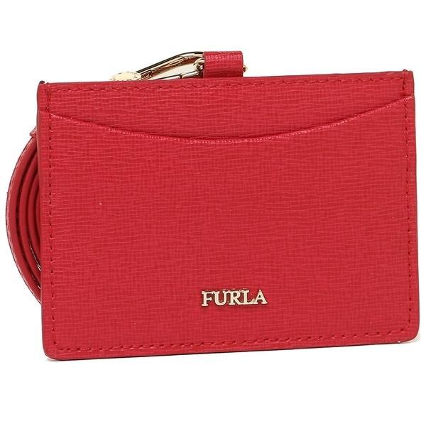 フルラ パスケース レディース FURLA 921886 PT27 B30 RUB レッド