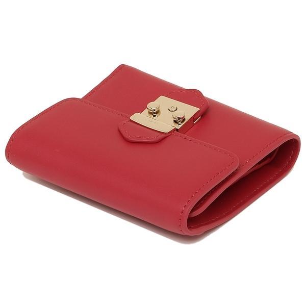 フルラ 二つ折財布 レディース FURLA 921906 PU28 RUB レッド