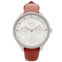フルラ 腕時計 レディース FURLA R4251102507 シルバー/レッド