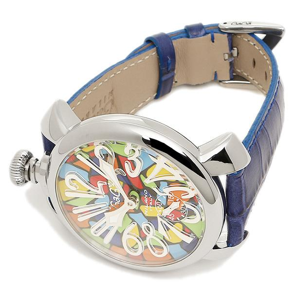ガガミラノ 腕時計 ウォッチ GAGA MILANO 5010MOSACO1S ブルー シルバー