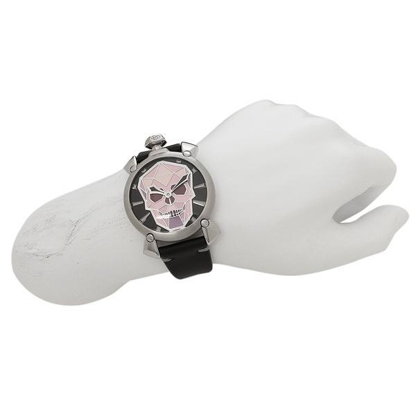 2a244a7d50 ... ガガミラノ 腕時計 メンズ GAGA MILANO 5060.01S-BLK マルチカラー シルバー ブラック ...