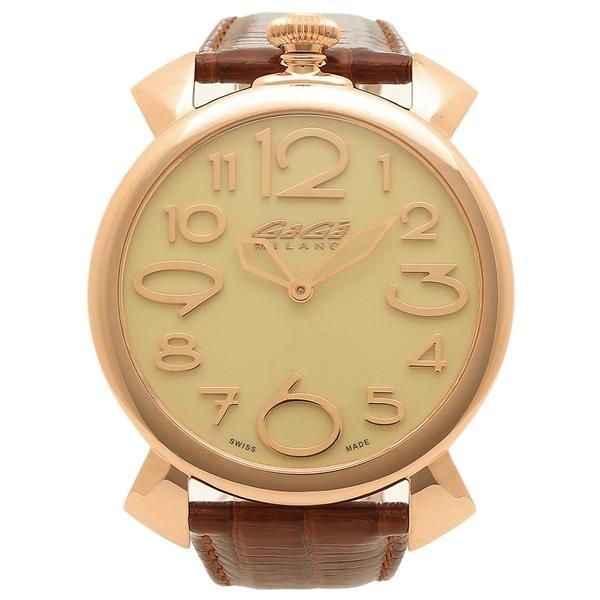 7f4b4a83d8 LOHACO - ガガミラノ 腕時計 メンズ GAGA MILANO 5091.05 ホワイト ...