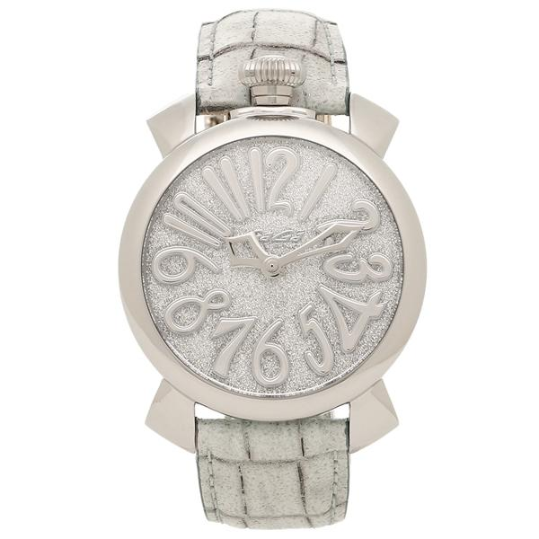 new product 5b818 db0b0 ガガミラノ 腕時計 レディース GAGA MILANO 5220.02 シルバー ライトグレー グレー 【5%OFFクーポンコード:CP34TSW】