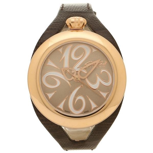 f7c9f144de ガガミラノ 腕時計 レディース メンズ GAGA MILANO 6071.02 ダークブラウン ブラウン